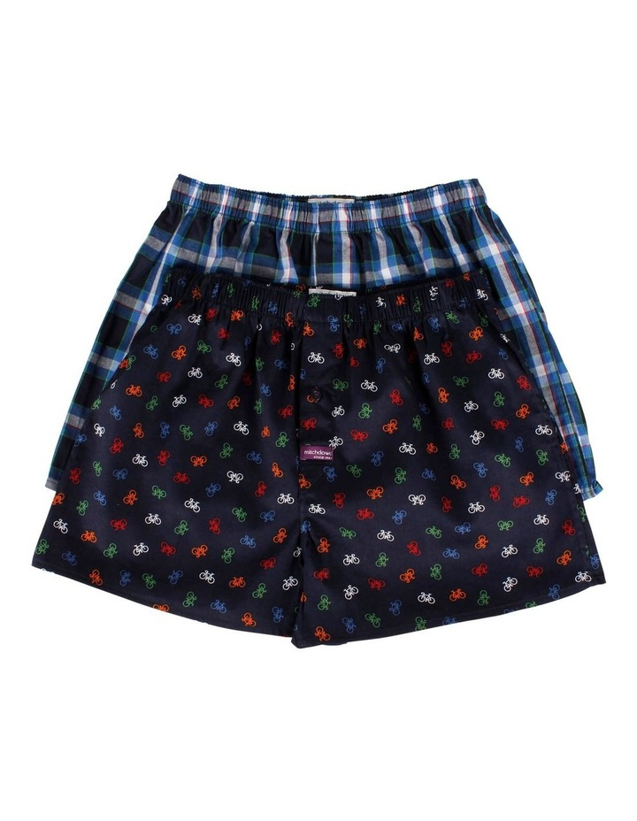 2 Pack Little Bikes Boxer Shorts image 1
