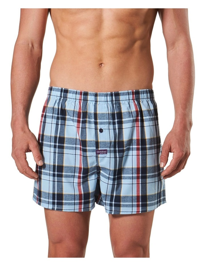 Christopher Check Yarn Dyed Boxer Short image 1