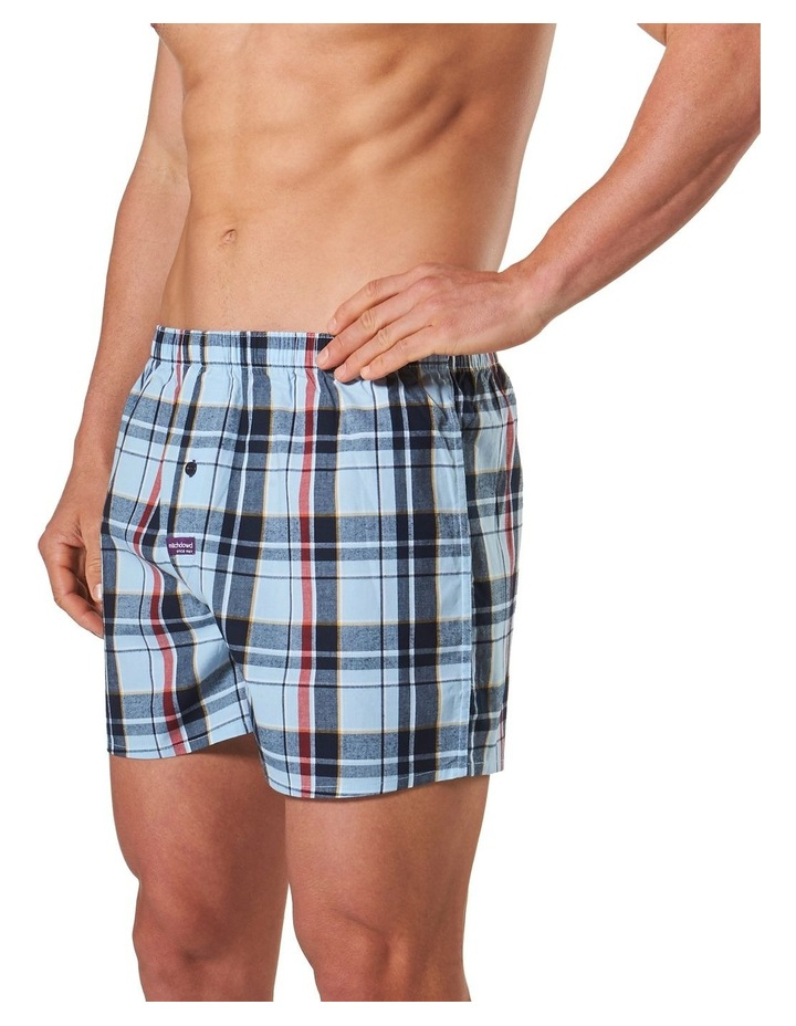 Christopher Check Yarn Dyed Boxer Short image 2