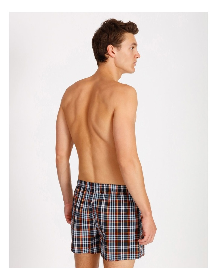 2 Pack Geo Check Woven Boxershorts image 3