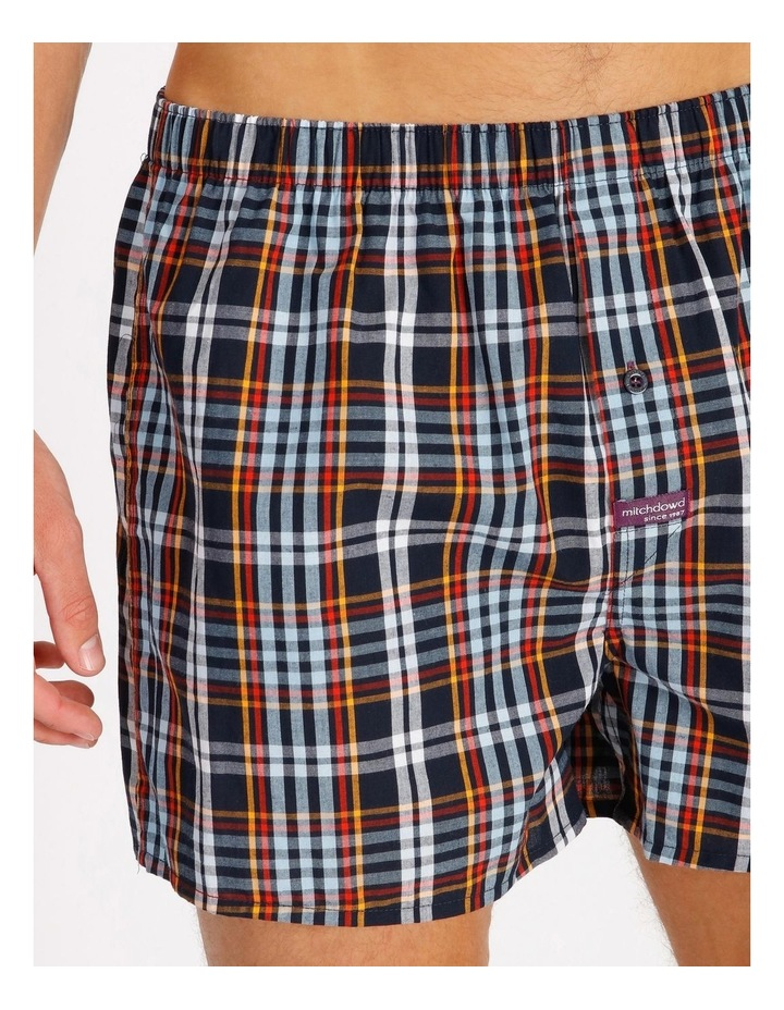 2 Pack Geo Check Woven Boxershorts image 4