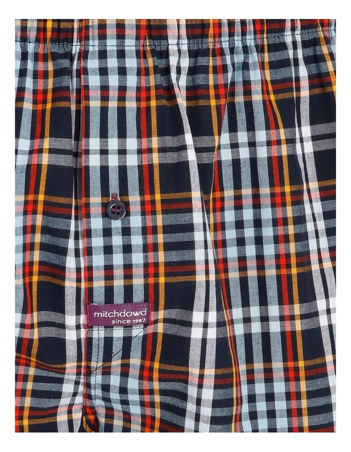 2 Pack Geo Check Woven Boxershorts image 6