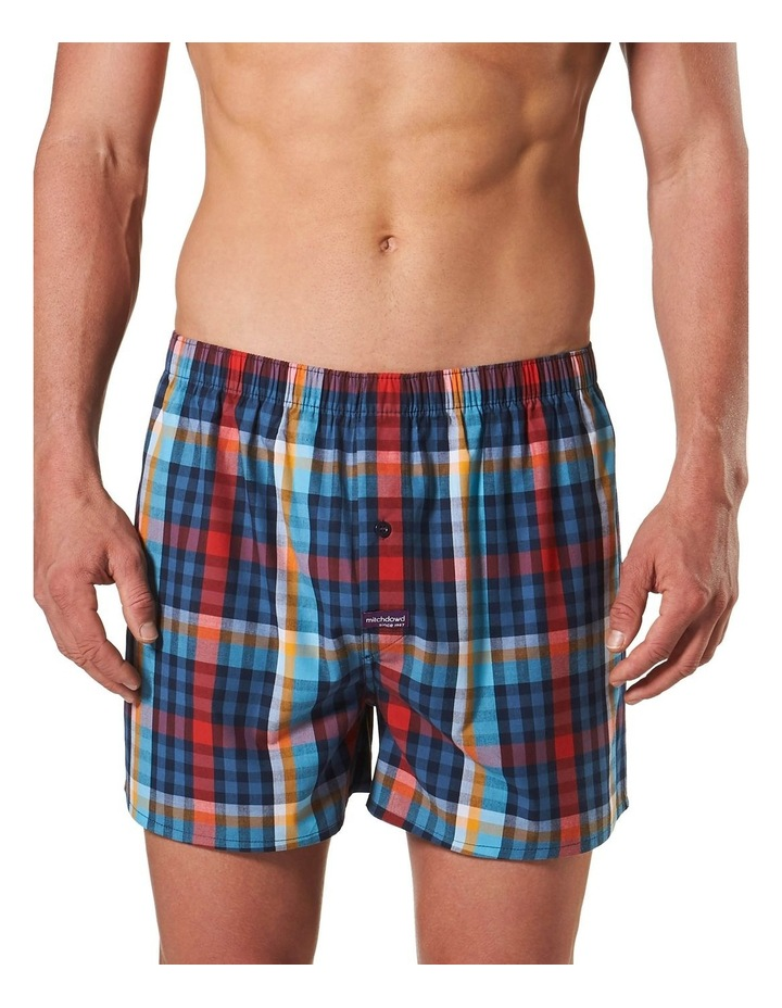 All Business Check Yarn Dyed Boxer Short image 1