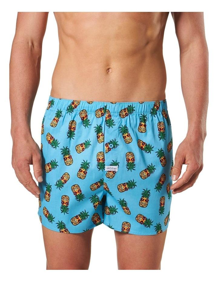Happy Pineapple Printed woven Boxershort image 1