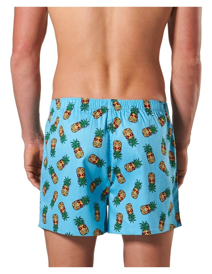 Happy Pineapple Printed woven Boxershort image 3