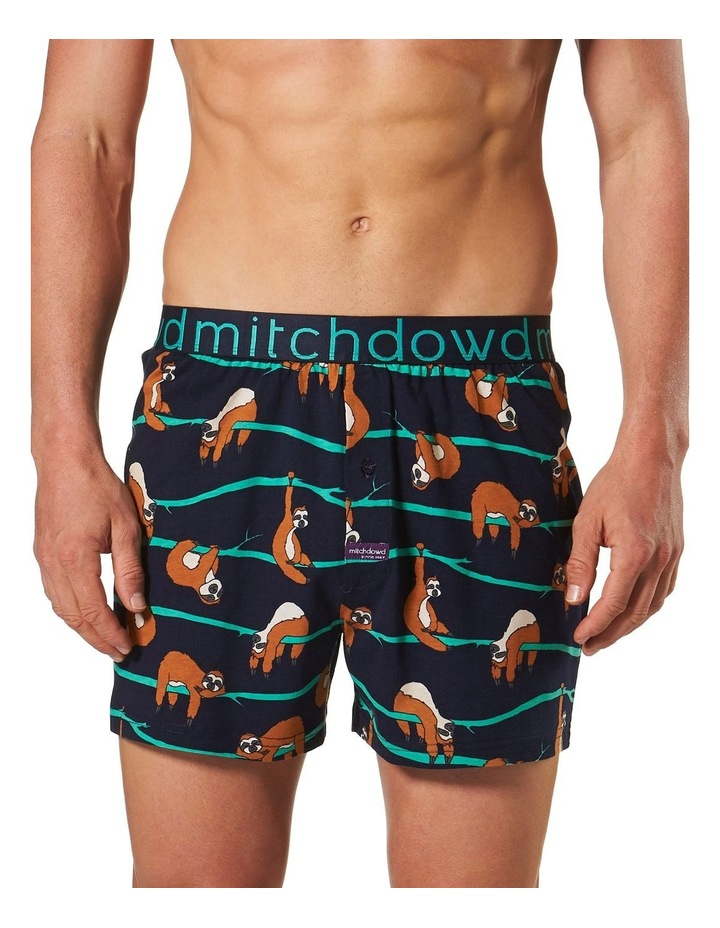 Lazy Sloth Loose Fit Knit Boxer Short image 1