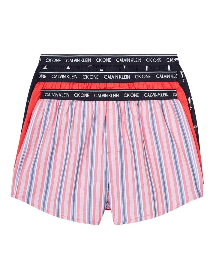 CK One 3 Pack Woven Boxer image 1