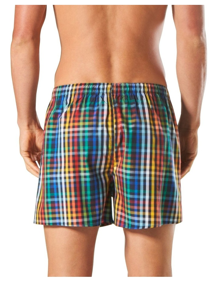 Colours Check Bamboo Blend Yarn Dyed Boxer Short image 3