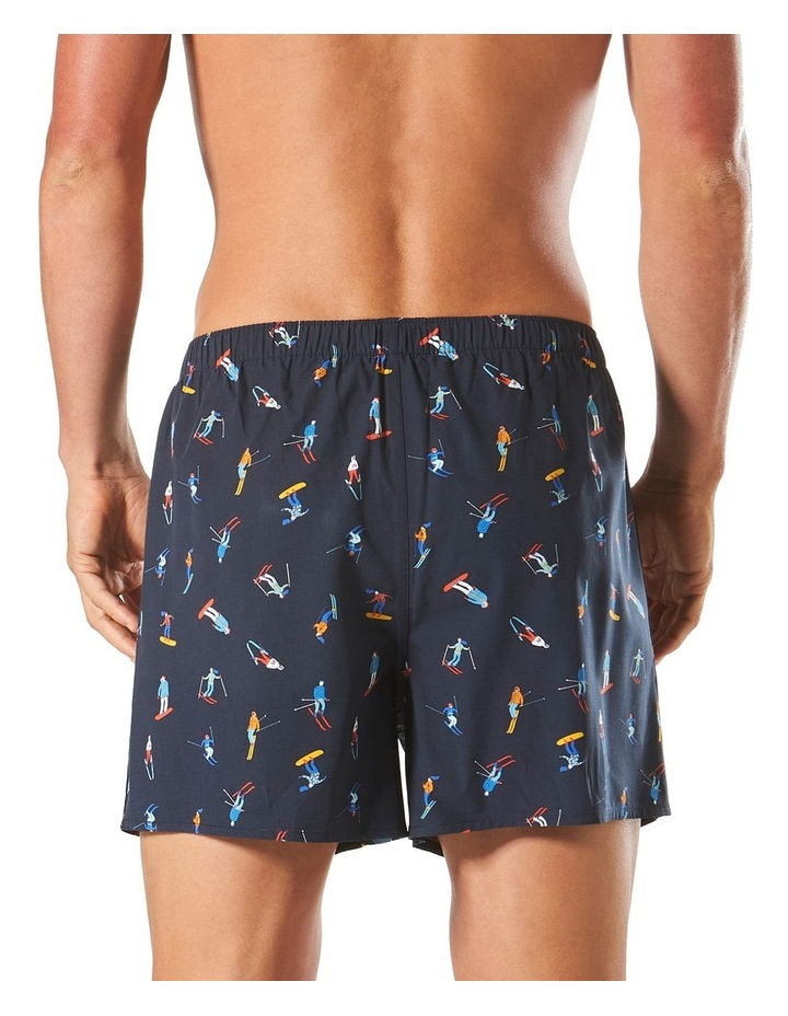 Skiers Bamboo Blend Printed Boxer Short image 3