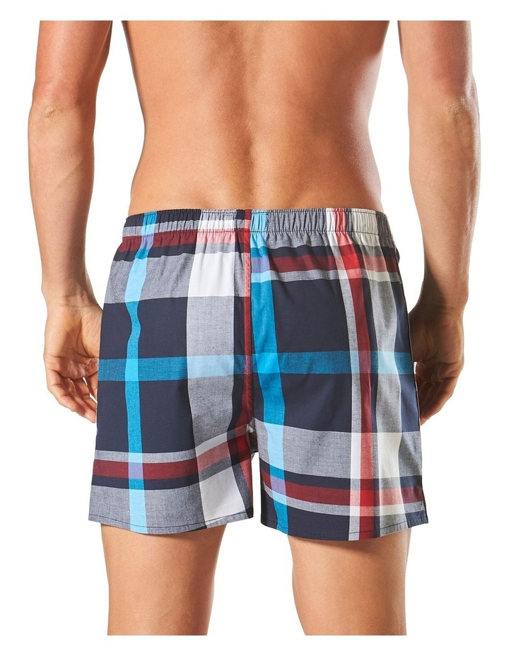 Aegean Check Yarn Dyed Stretch Boxer Short image 3