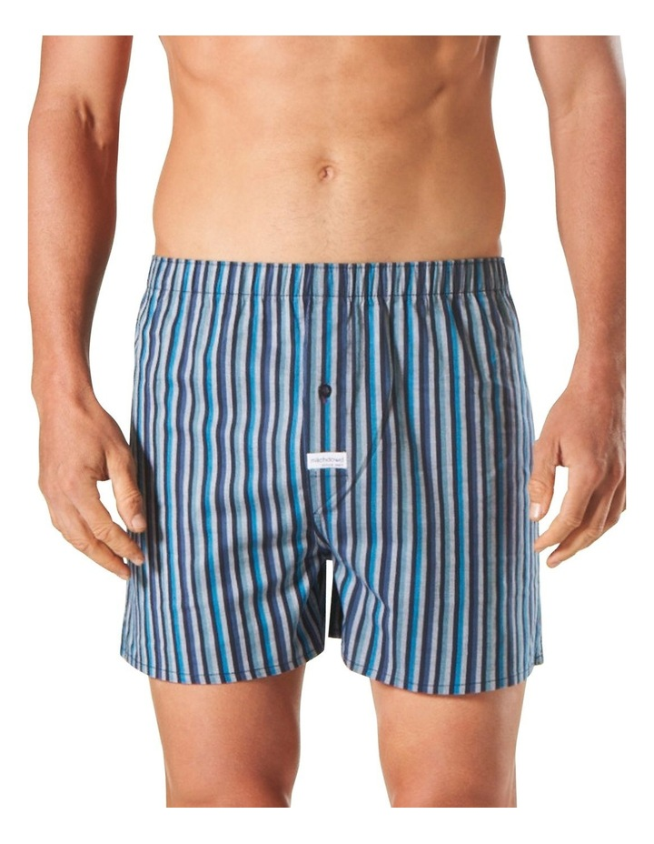 Bering Stripe Yarn Dyed Stretch Boxer Short image 1