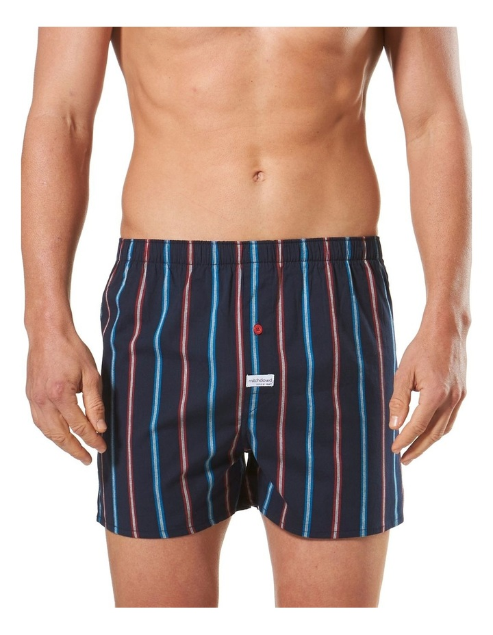 Oregon Stripe Stretch Yarn Dyed Cotton Blend Boxer image 1