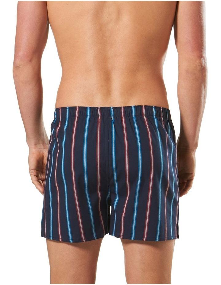 Oregon Stripe Stretch Yarn Dyed Cotton Blend Boxer image 3