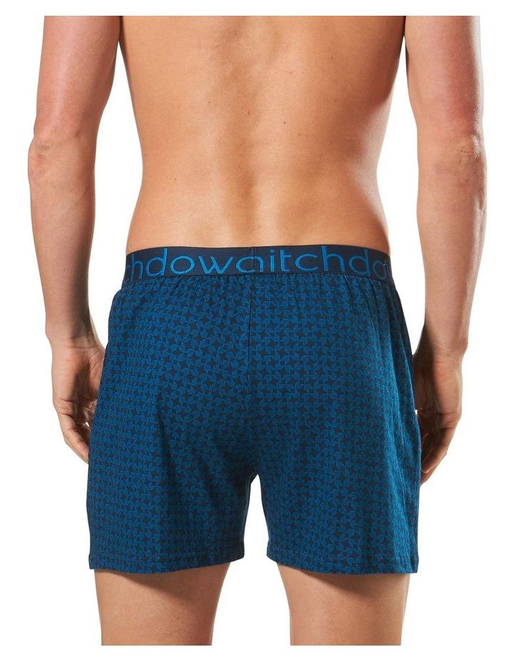 2 Pack Samurai Printed Cotton Loose Fit Knit Boxer image 4