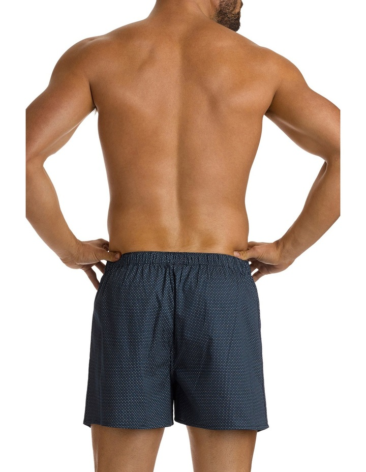Coby Navy Printed Soft Wash Boxer image 3