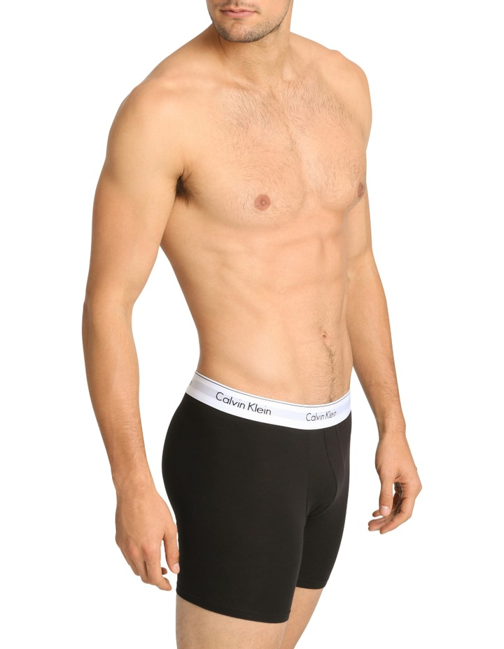 Modern Cotton Stretch 2 Pack Boxer Brief image 2