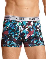 Bonds - Bonds Guyfront Micro Print Trunk