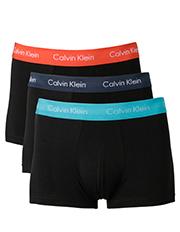 Calvin Klein - Cotton Stretch 3 Pk Trunk