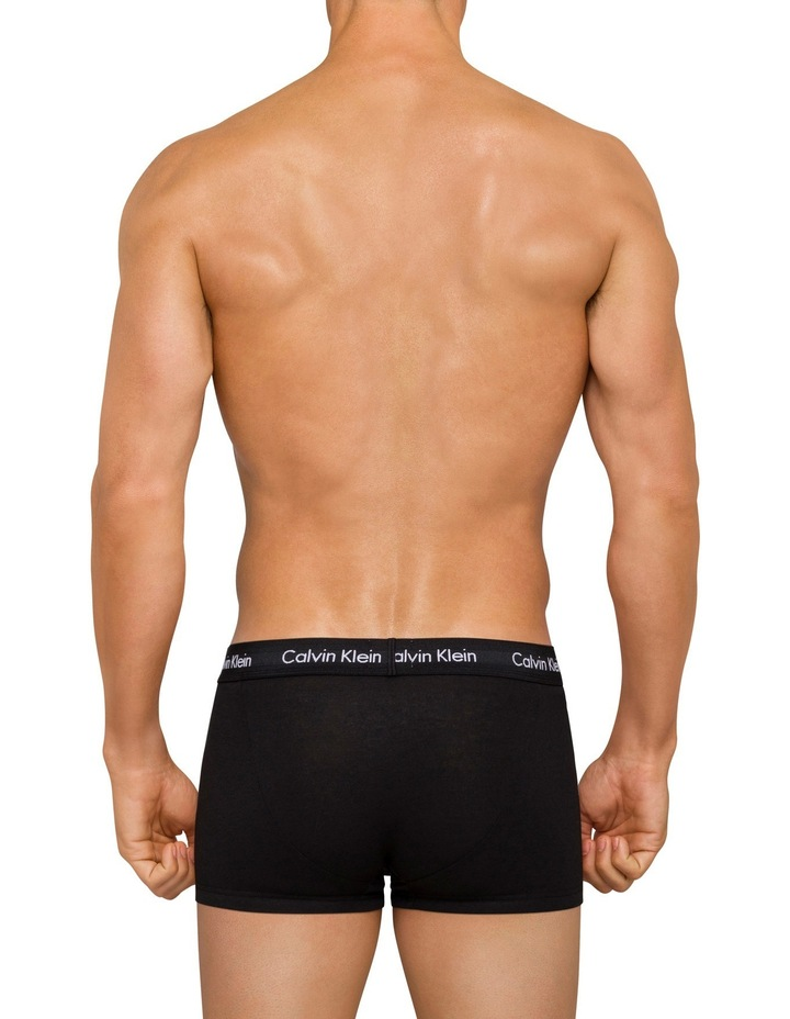 Cotton Stretch 3 Pack Trunks image 2