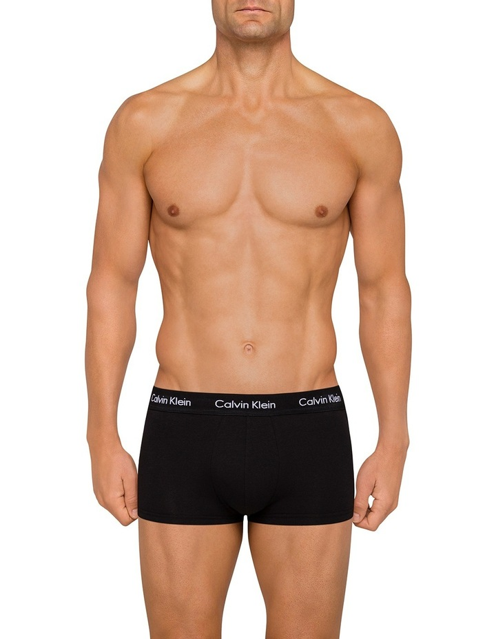 Holiday 4 Pack Cotton Stretch Low Rise Trunks image 2