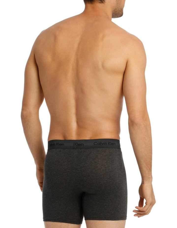 Cotton Stretch 3 Pack Boxer Brief image 3