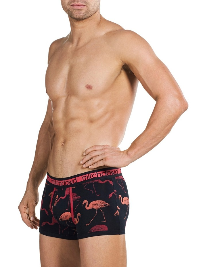 Originals Flamingo Nights Printed Bamboo Fitted Trunk image 2