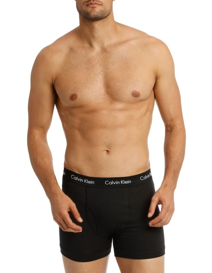 Calvin Klein 3 Pack Cotton Stretch Trunk image 2