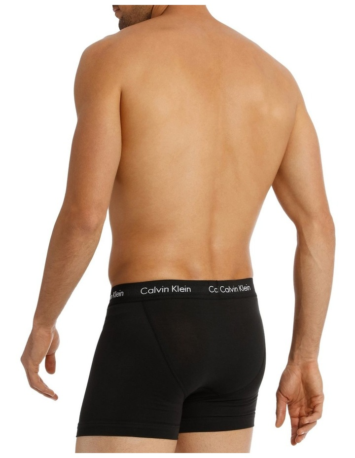 Calvin Klein 3 Pack Cotton Stretch Trunk image 4
