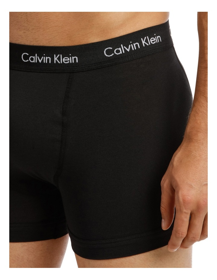 Calvin Klein 3 Pack Cotton Stretch Trunk image 5