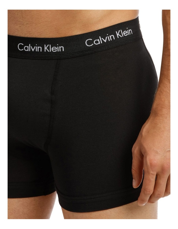 Calvin Klein 3 Pack Cotton Stretch Trunk image 6