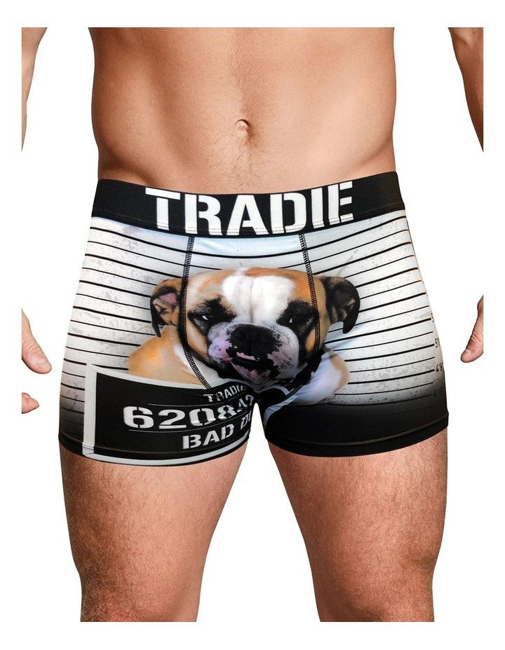 Tradie Work N Surf Trunk - Bad Dog image 1