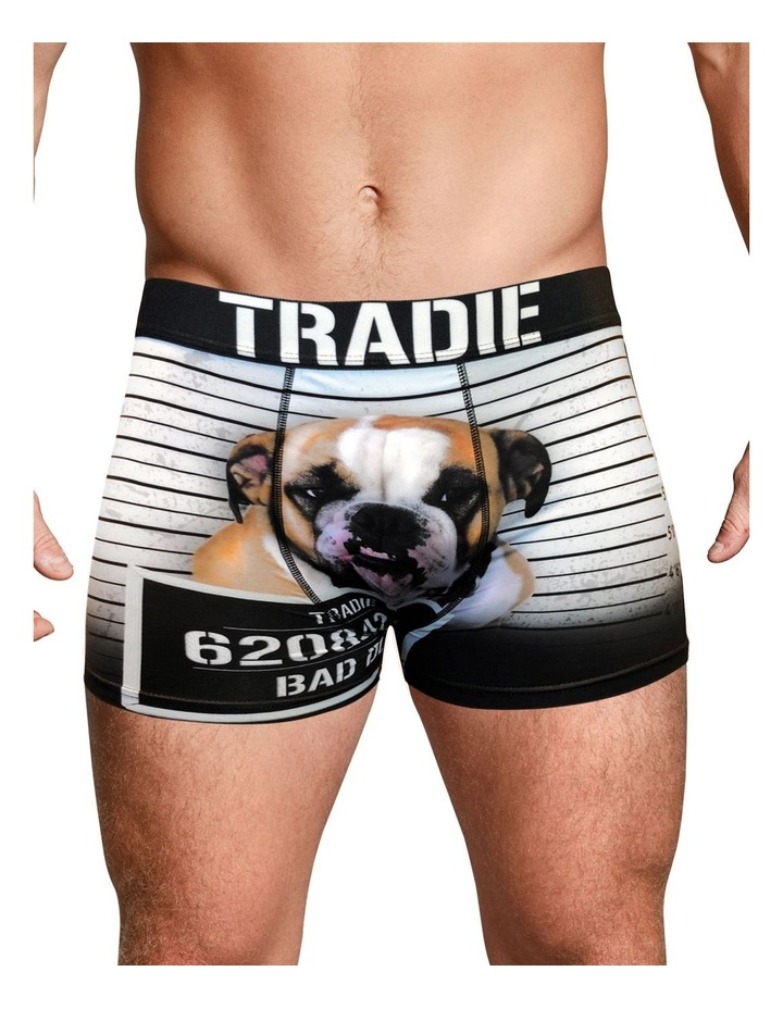 Tradie Work N Surf Trunk - Bad Dog image 2