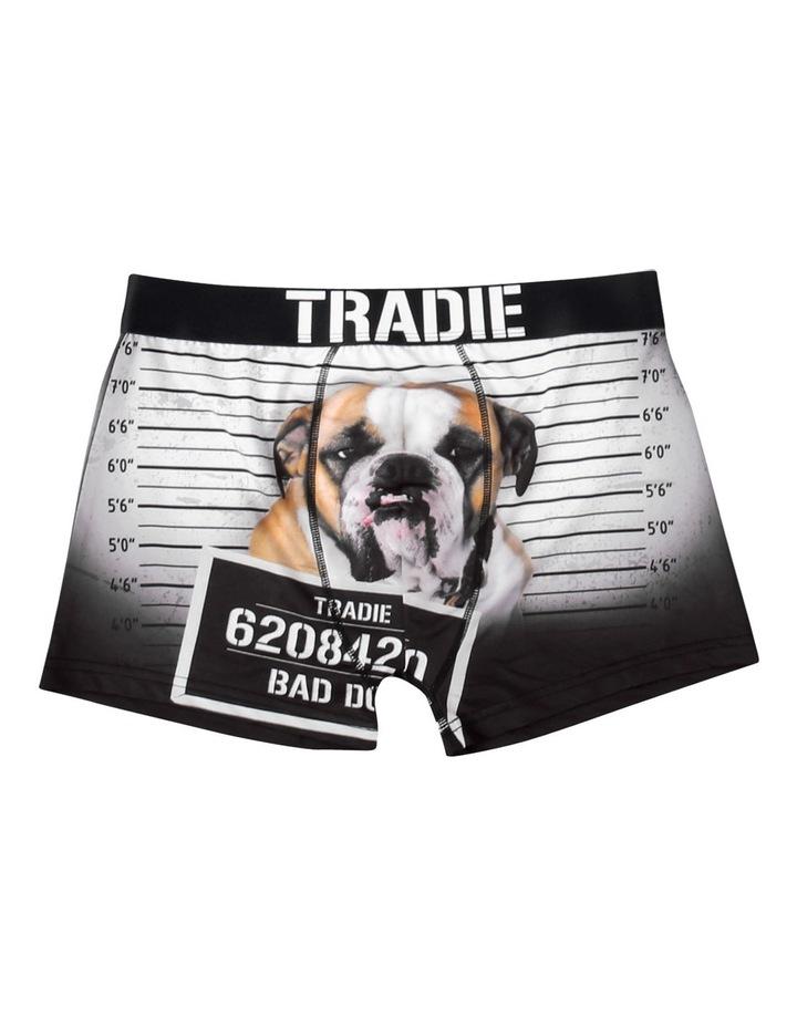 Tradie Work N Surf Trunk - Bad Dog image 3