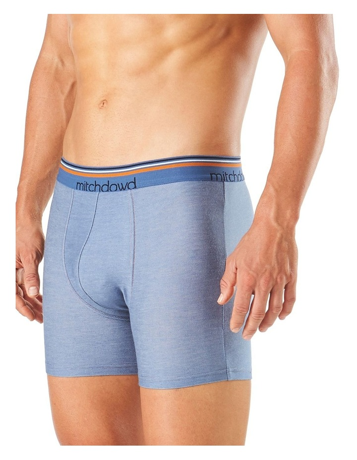 Chambray Denim Long Leg Fitted Trunk image 2