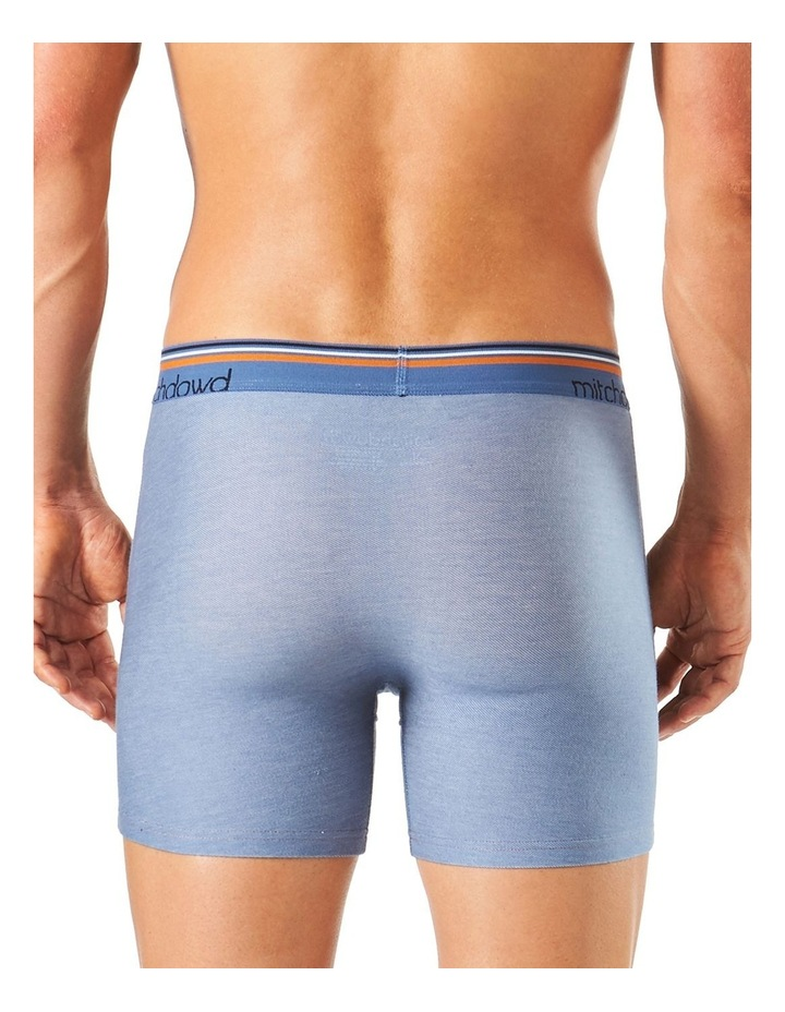 Chambray Denim Long Leg Fitted Trunk image 3