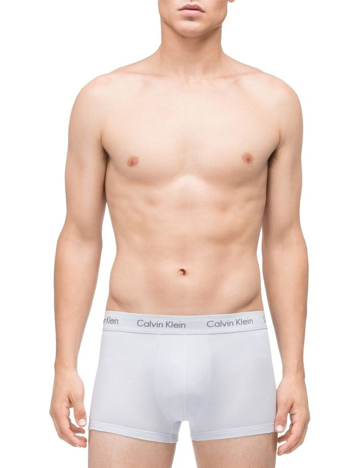 Cotton Stretch Low Rise Trunk 3 Pack image 2