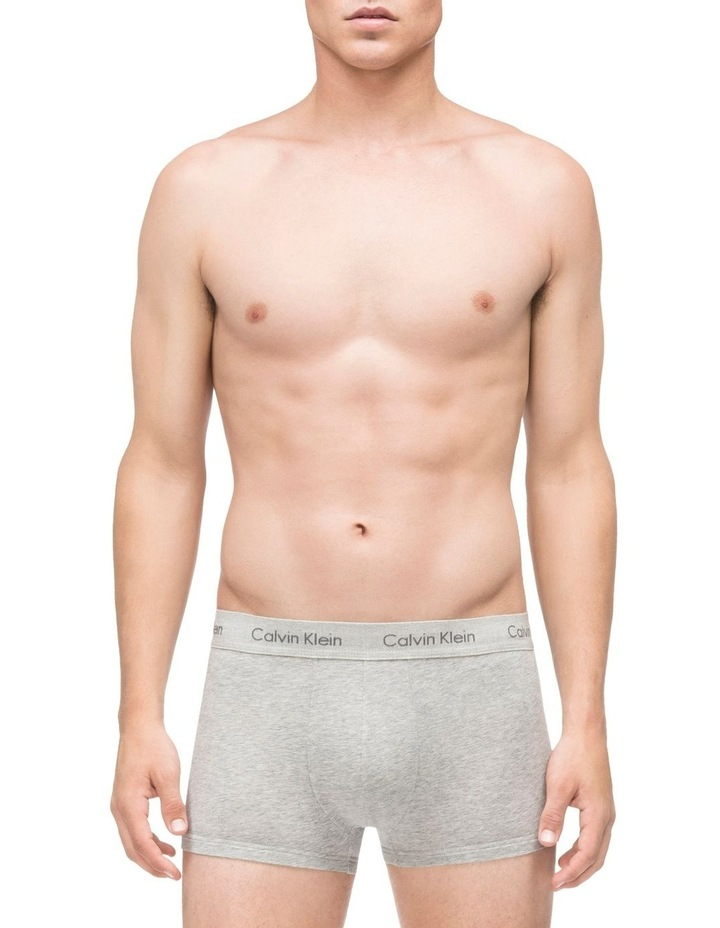 Cotton Stretch Low Rise Trunk 3 Pack image 4