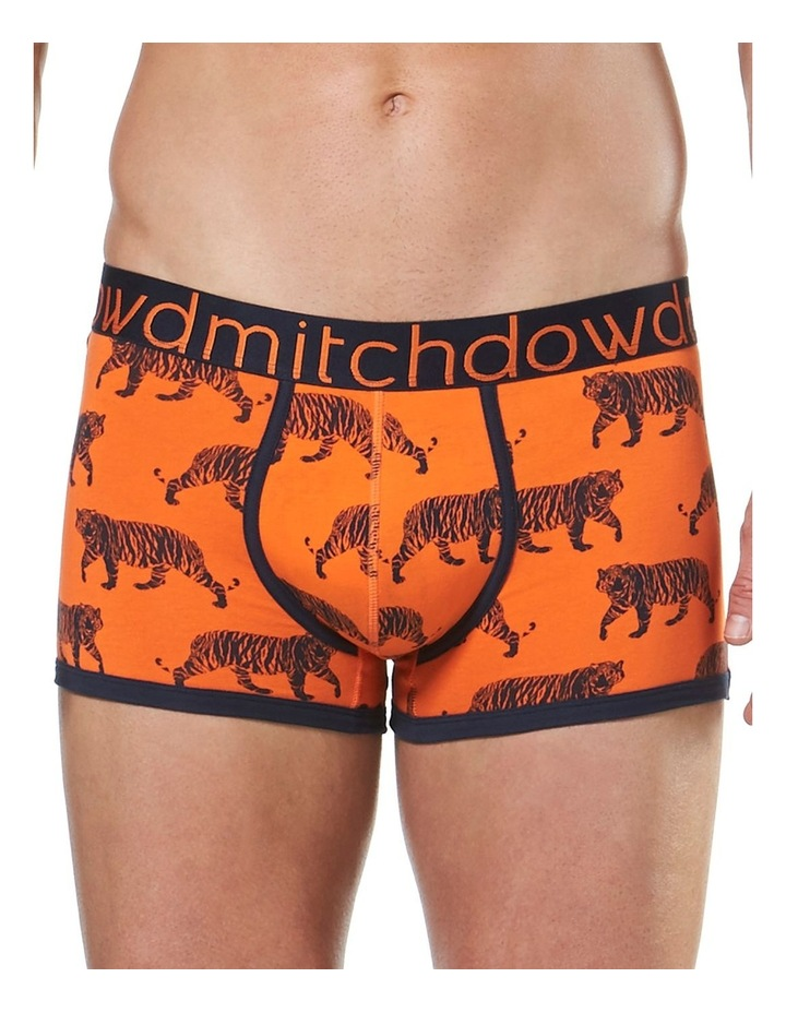 Tiger Printed Fitted Trunk image 1