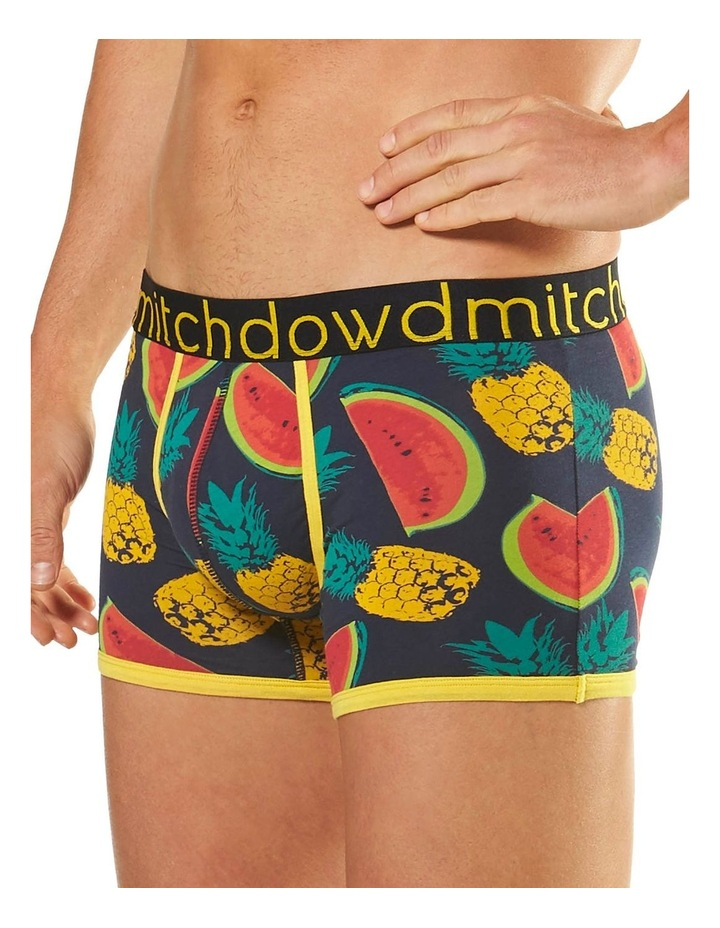 Pineapples & Melons Printed Fitted Trunk image 2