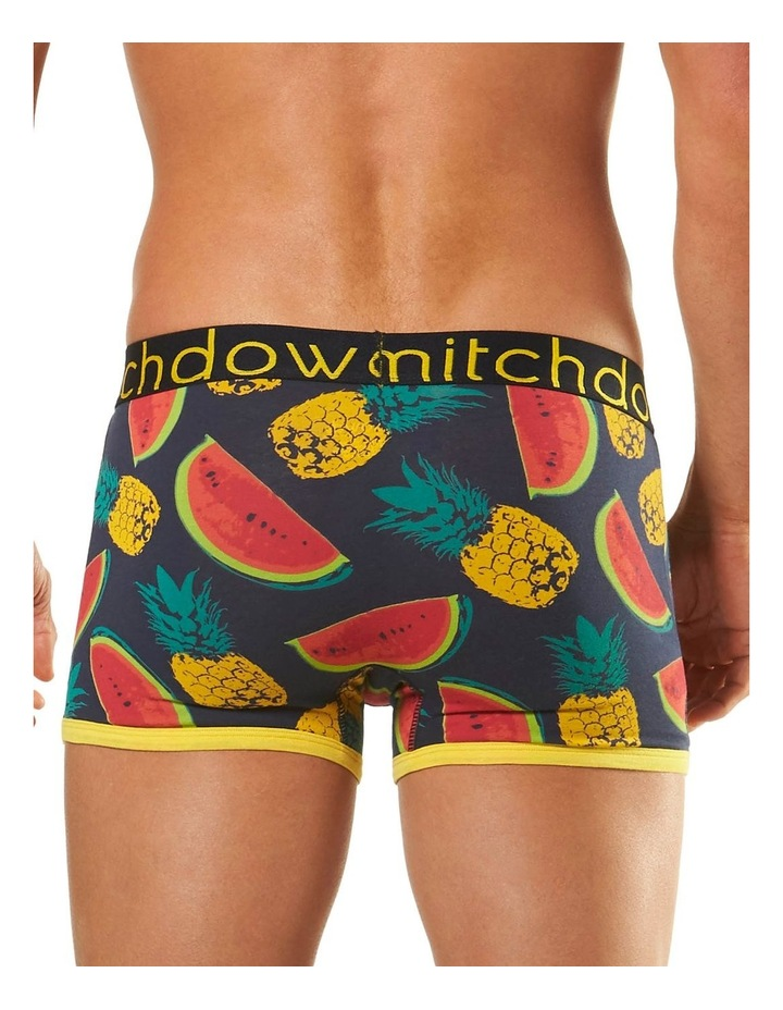 Pineapples & Melons Printed Fitted Trunk image 3