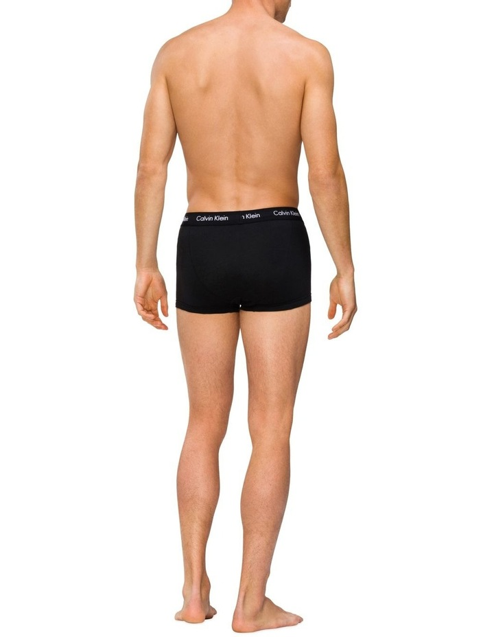 Cotton Stretch Holiday Trunks - 4 Pack image 3