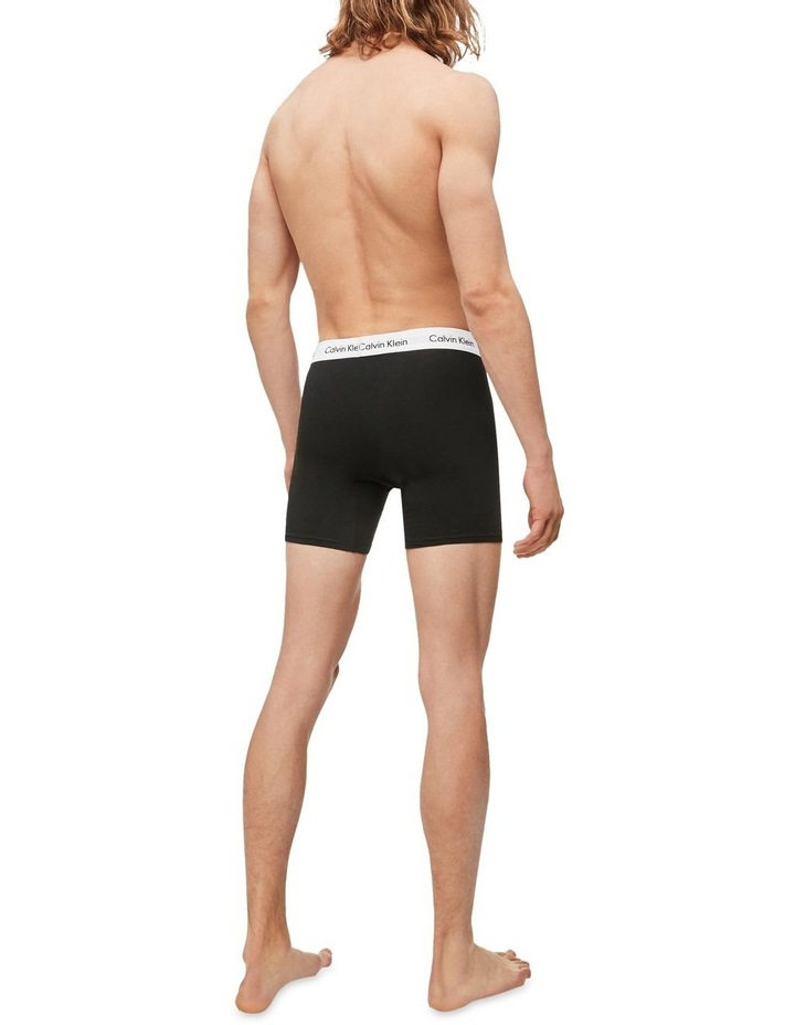 Cotton Stretch 3 Pack Boxer Brief image 2