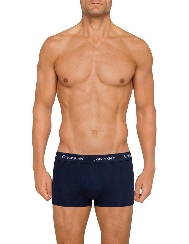 Cotton Stretch 3 Pack Low Rise Trunk image 2