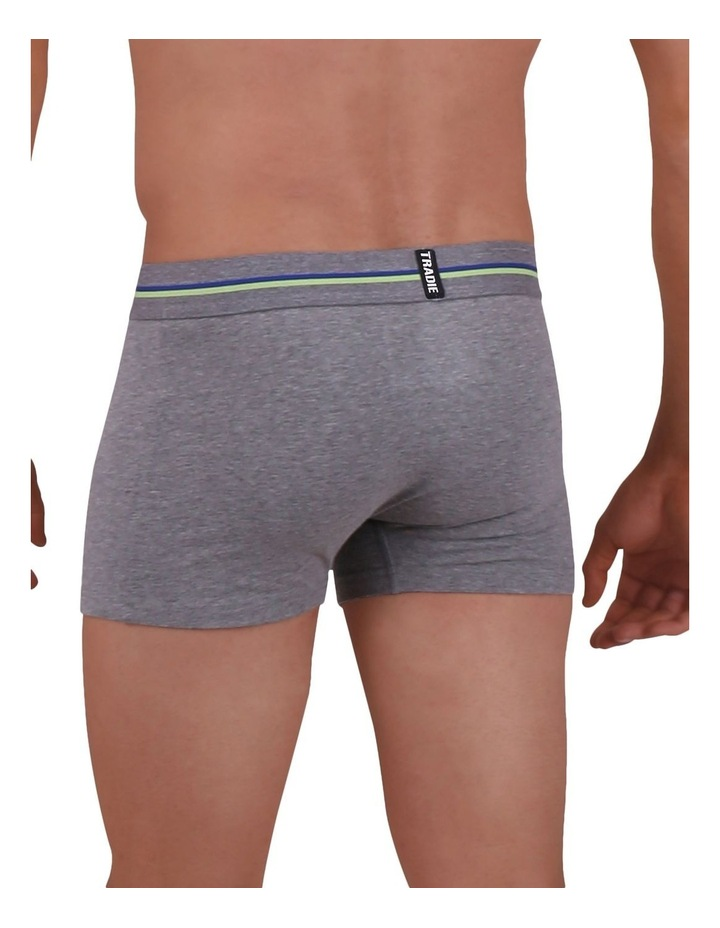 Organic Cotton 3 Pack Plain Trunks image 3