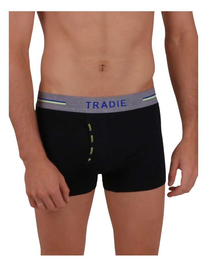 Organic Cotton 3 Pack Plain Trunks image 5