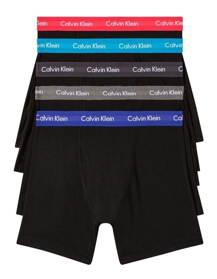 Cotton Stretch 5 Pack Boxer Brief image 1