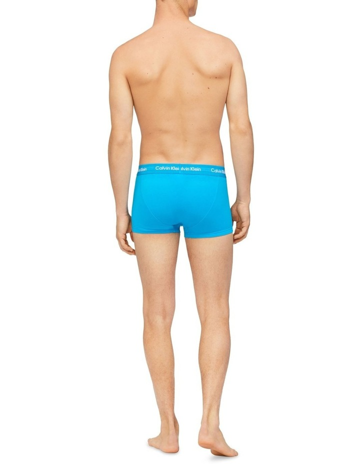 Cotton Stretch 3 Pk Low Rise Trunks image 4