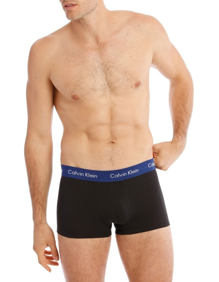 Cotton Stretch 3 Pack Low Rise Trunks image 1