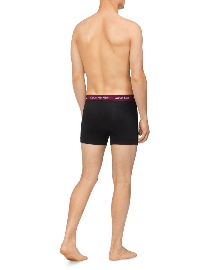 Cotton Stretch 5 Pack Low Rise Trunks image 3