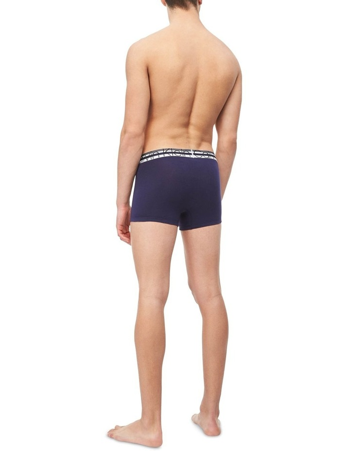 Fashion Band Cotton Stretch 3 Pack Trunks image 5